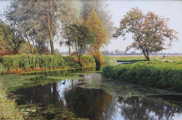 DAVID SMITH | River Gipping near Needham Market, Suffolk