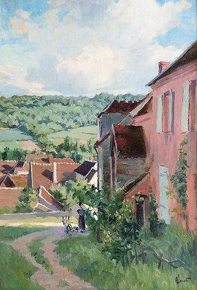 ALEXANDRE LOUIS JACOB | The Corner of the Village