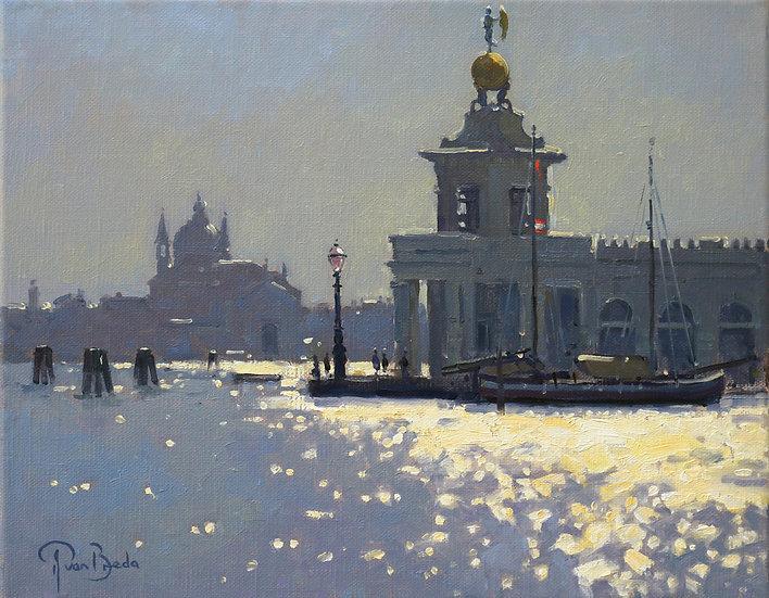 Evening Light, Punta della Dogona, Venice