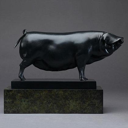 NICK BIBBY | Large Black Sow (Ingrid)