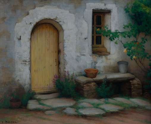 CHARLES PERRON | The Stone Bench