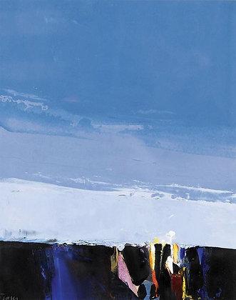 DONALD HAMILTON FRASER | Landscape Study; Layered Sky No. 4