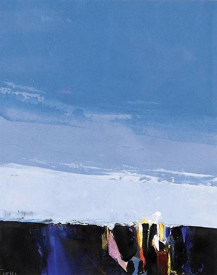 Landscape Study; Layered Sky No. 4