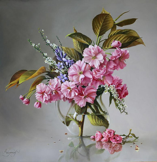 Royal Burgundy Blossom
