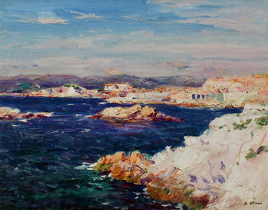 JEAN-BAPTISTE OLIVE | View from the Cliffs, Marseilles, France