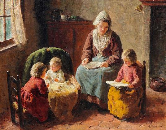 BERNARD POTHAST | The Reading Lesson