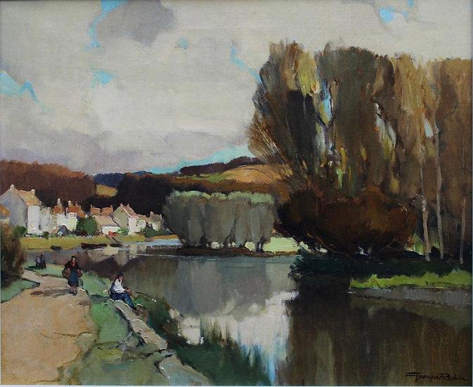 L'Yonne à Mailly-la-Ville