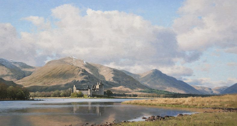 PETER SYMONDS | Early Evening, Kilchurn Castle, Loch Awe, Scotland