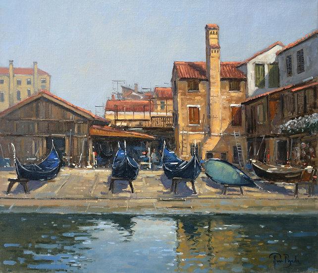 Boat Yard, Venice