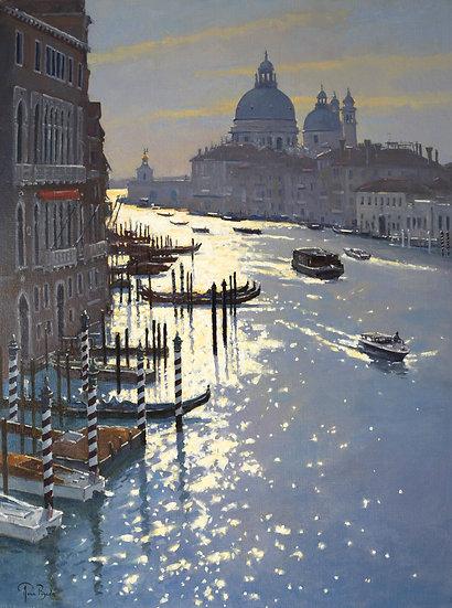 First Life from Ponte della'Accademia, Venice