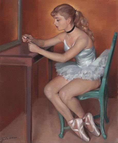 Portrait de Danseuse