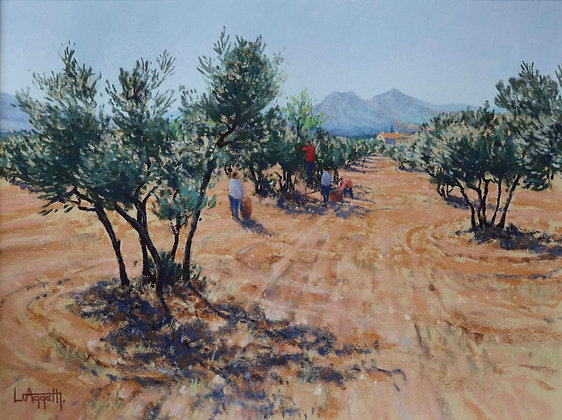 LIONEL AGGETT | The Olive Pickers