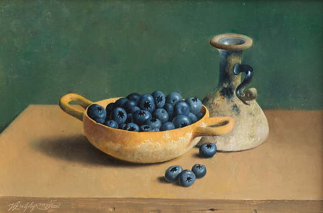 WILLEM DOLPHYN | Blueberry Pickings
