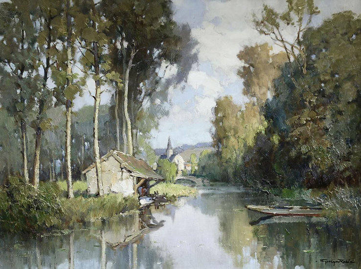 Lavoir sur L'Eure