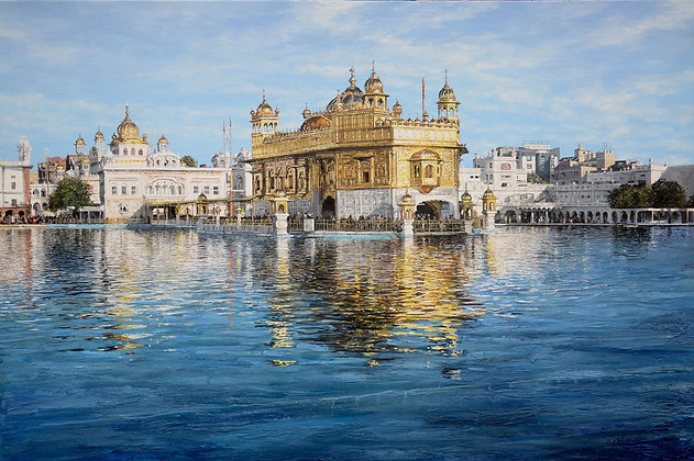 MARTIN TAYLOR | The Golden Temple at Amritsar II