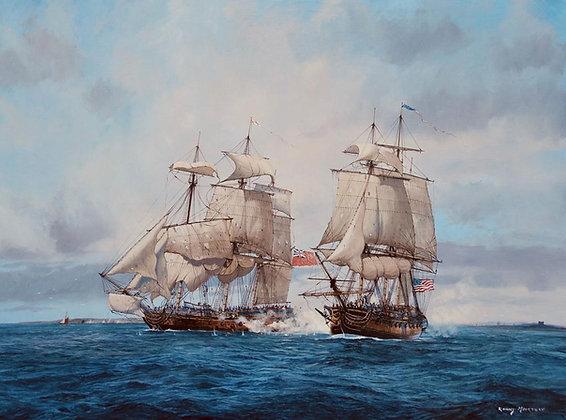 RONNY MOORTGAT | US Ranger and HMS Drake