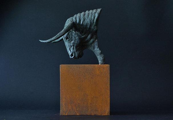EDWARD WAITES | Bull's Head Maquette