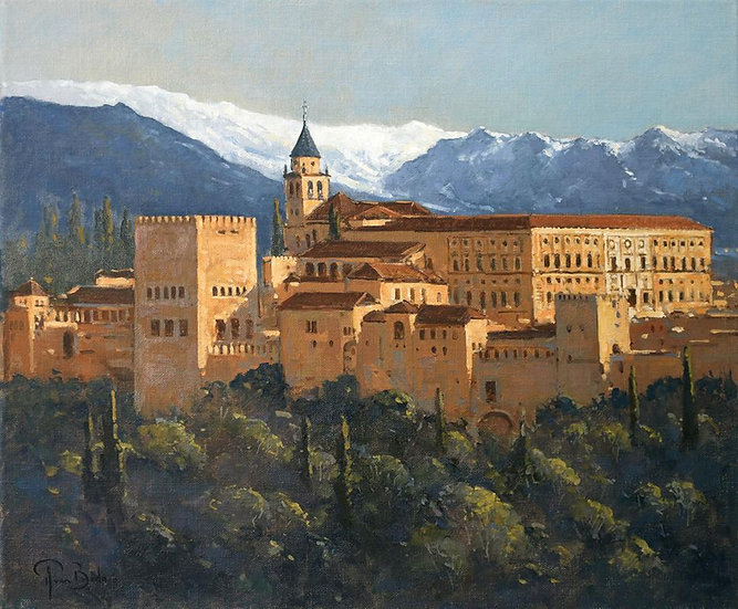 Early Spring, Alhambra, Granada