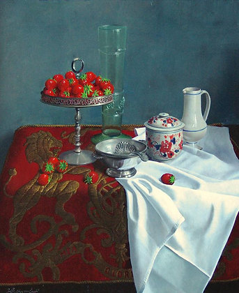 WILLEM DOLPHYN | Strawberry Harvest