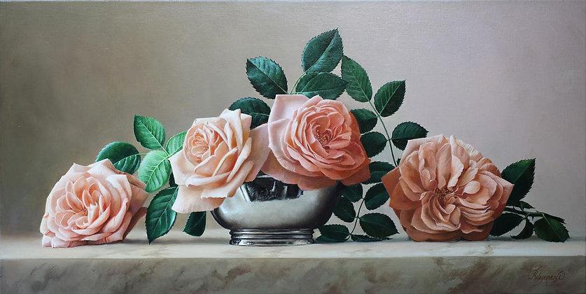 PIETER WAGEMANS | Pink Roses