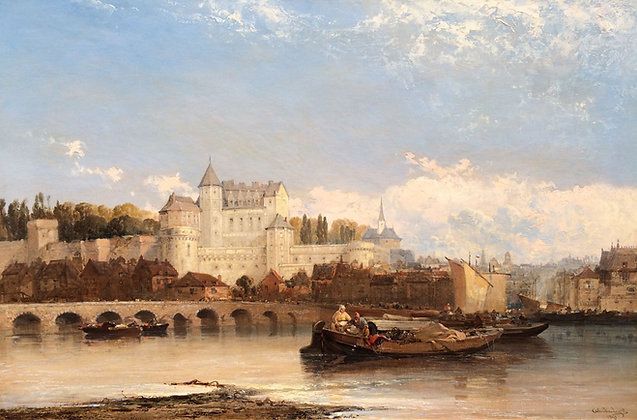 ARTHUR J. MEADOWS | Amboise on the Loire
