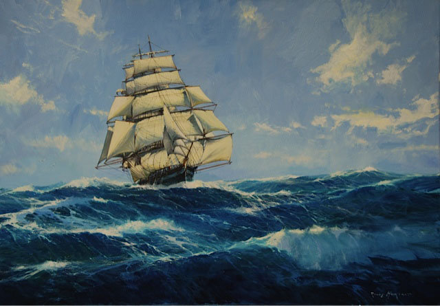 The Clipper Ship North America