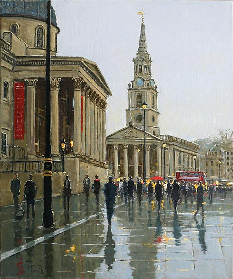 Reflections, St Martin-in-the-Fields, London