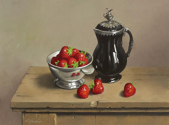 WILLEM DOLPHYN | Sweet Strawberries