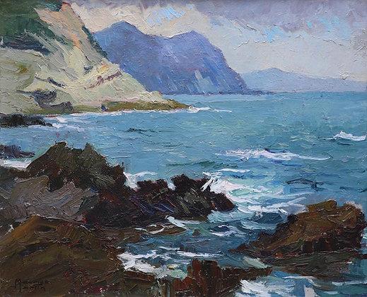 MAURICE MARTIN   La Mer Déchainée