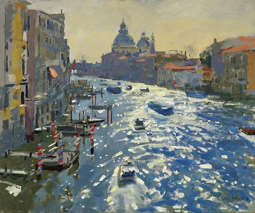 KENNETH HOWARD | View from the Accademia