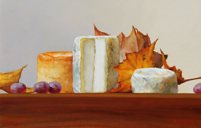 PAUL BROWN | Autumnal Goats' Cheese