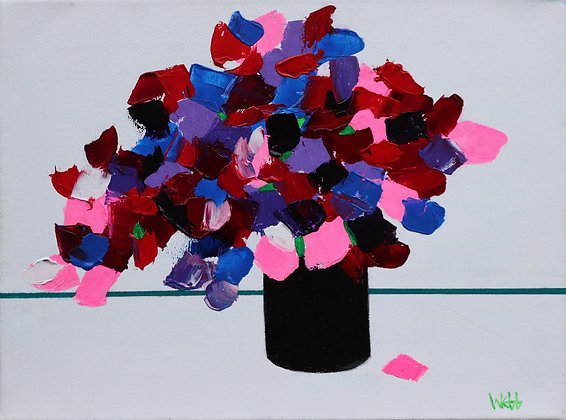 KENNETH WEBB | Pink and Blue