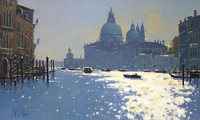 PETER VAN BREDA   Morning Light towards Salute, Venice