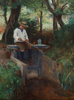 WILLIAM BANKS FORTESCUE | The Young Angler