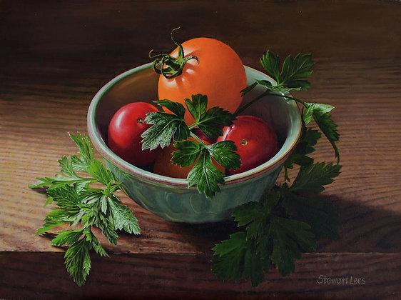 STEWART LEES | Tomatoes and Parsley