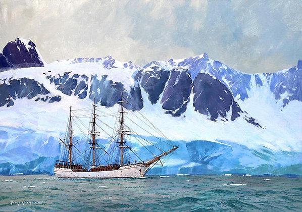 RONNY MOORTGAT | Europa in Antarctic Waters