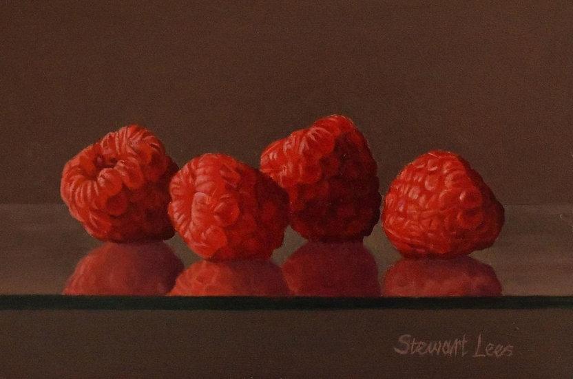 Raspberries Reflected