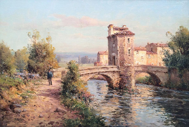 AUGUSTE BOUVARD | The Fortified Bridge