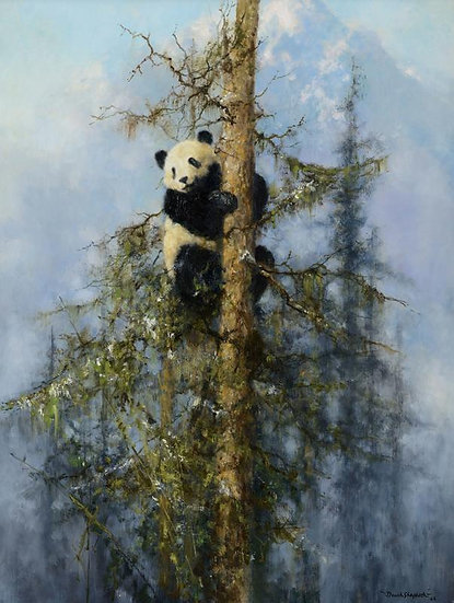 Wolong Panda, Painted in 2006