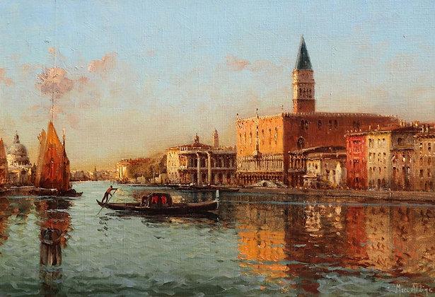 AUGUSTE BOUVARD | Vue du Grand Canal à Venise