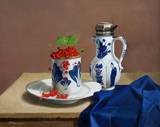WILLEM DOLPHYN | Blue and Red