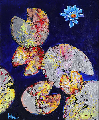 KENNETH WEBB | Silver Lily Pads