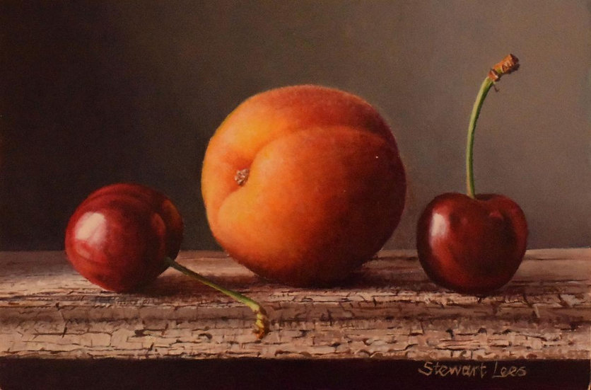 Two Cherries and an Apricot