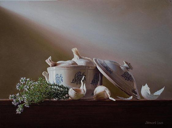 STEWART LEES | The Garlic Jar