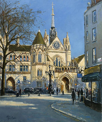 PETER VAN BREDA | Morning Light, Royal Courts of Justice, London