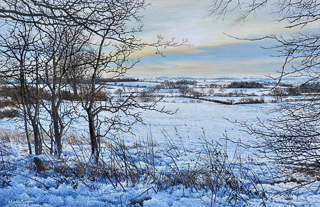 MARTIN TAYLOR | Sun Sets over Snow Fields