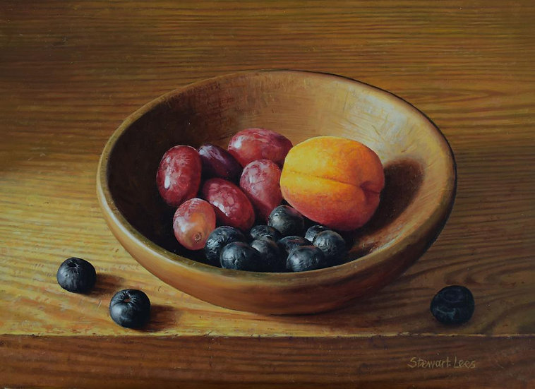 Soft Fruits in a Bowl