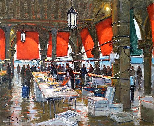 PETER VAN BREDA   Fish Market, Venice