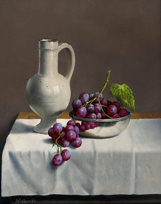 WILLEM DOLPHYN | Silver Grapes