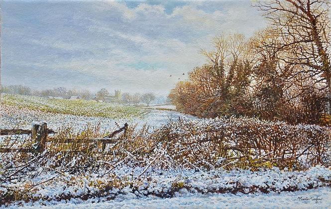 MARTIN TAYLOR | Snowscene near Great Brington